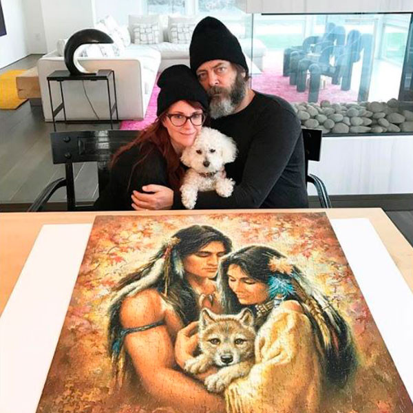 Nick Offerman, Megan Mullally, Puzzle