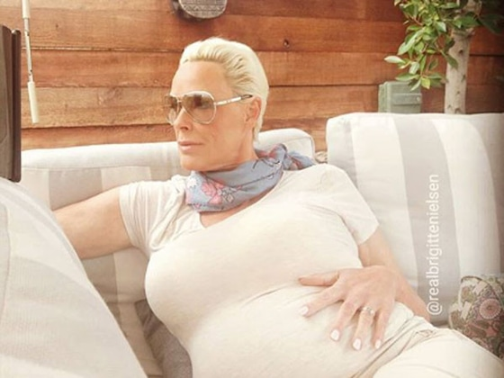 Brigitte Nielsen Gives Birth to Baby No. 5