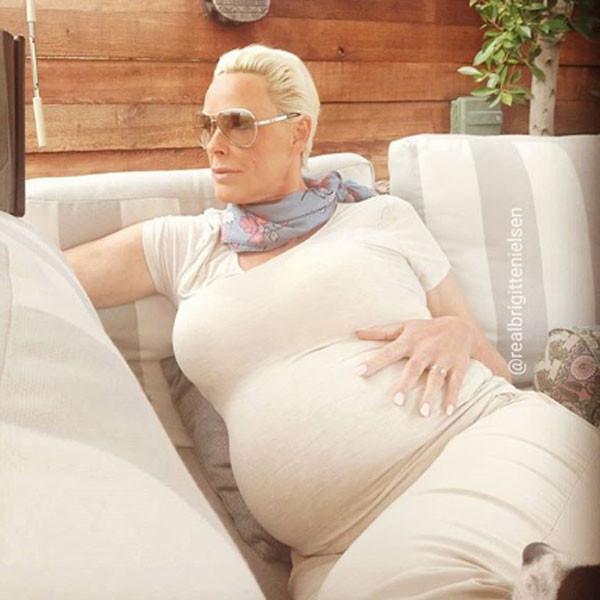 Brigitte Nielsen, Baby, Pregnancy