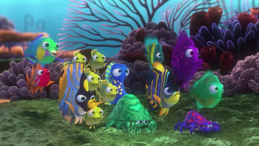 school of fish from finding nemo 15 things you never knew e news
