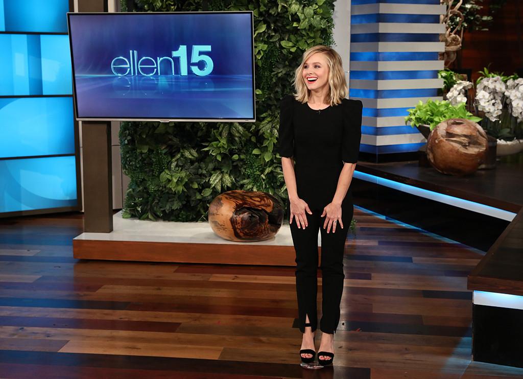 Kristen Bell, Mother, Mom, Lorelei Bell, Ellen DeGeneres Show