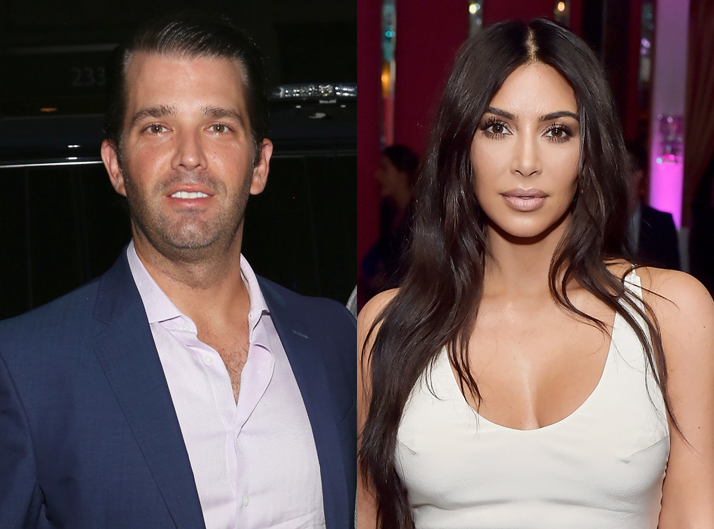 Donald Trump Jr., Kim Kardashian