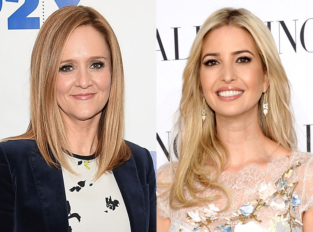 Samantha Bee, Ivanka Trump