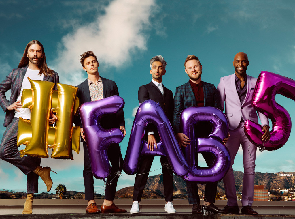 Queer Eye, Jonathan Van Ness, Antoni Porowski, Tan France, Bobby Berk, Karamo Brown