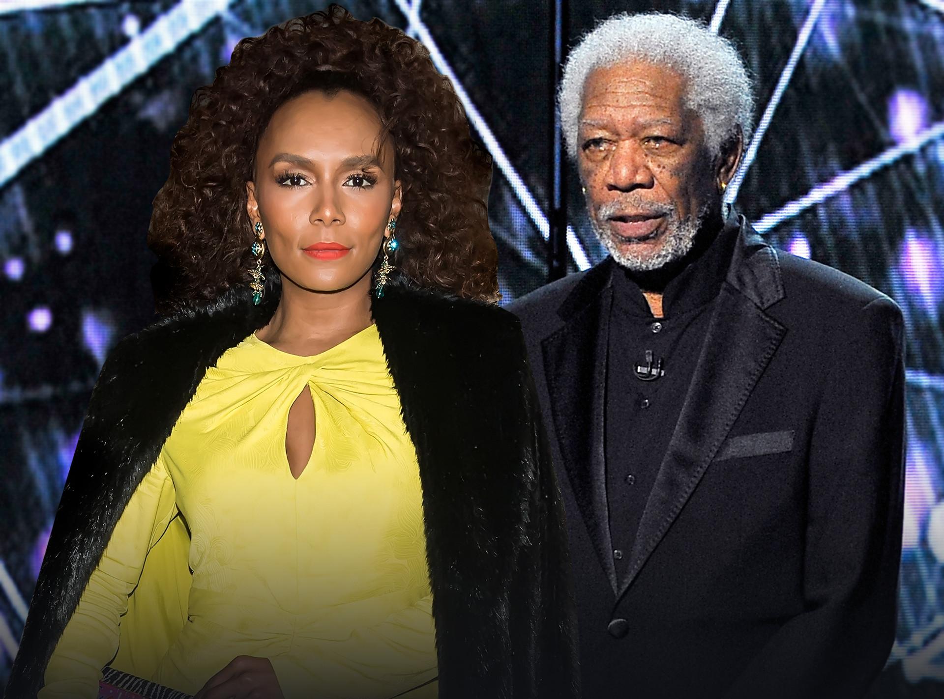 Janet Mock, Morgan Freeman