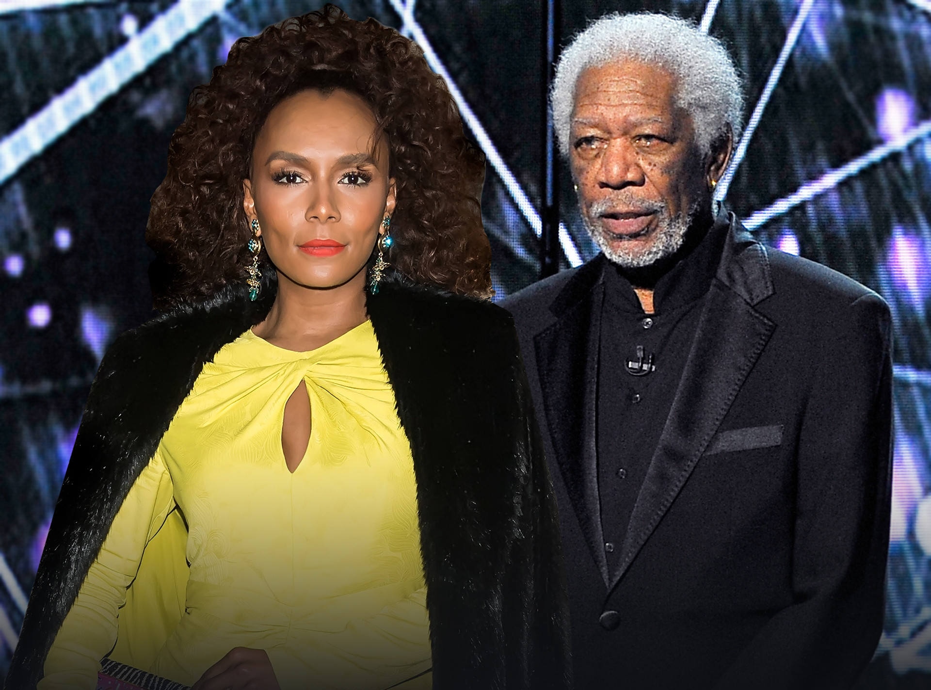 Janet Mock, Morgan Freeman