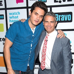 John Mayer, Andy Cohen