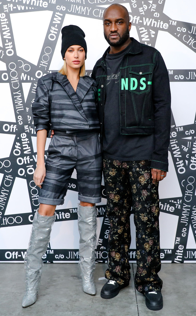 ESC: OFF-WHITE, Hailey Baldwin, Virgil Abloh