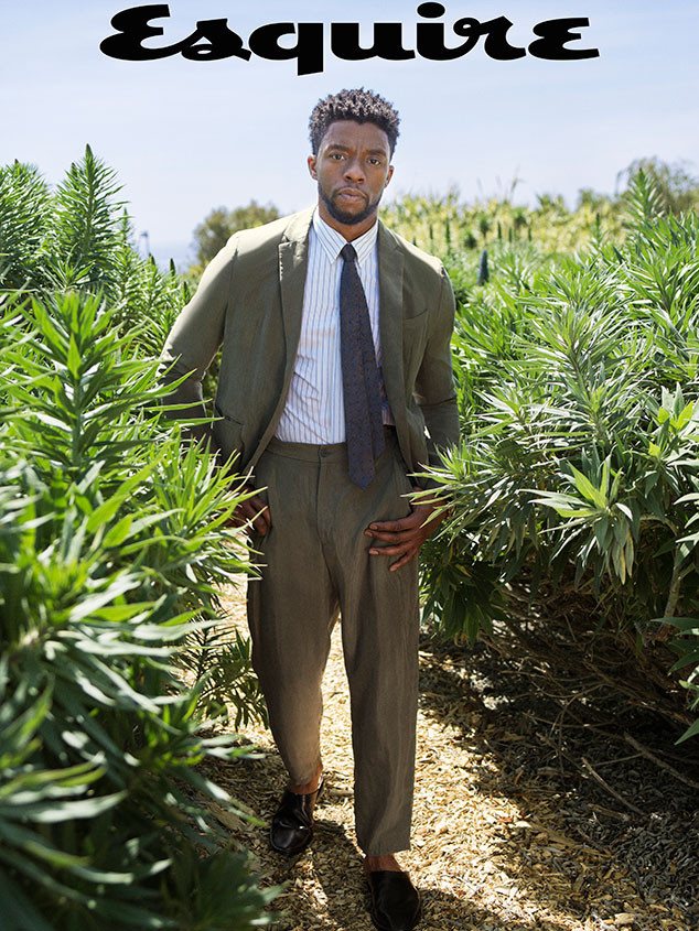 Chadwick Boseman, Esquire Summer Issue 2018