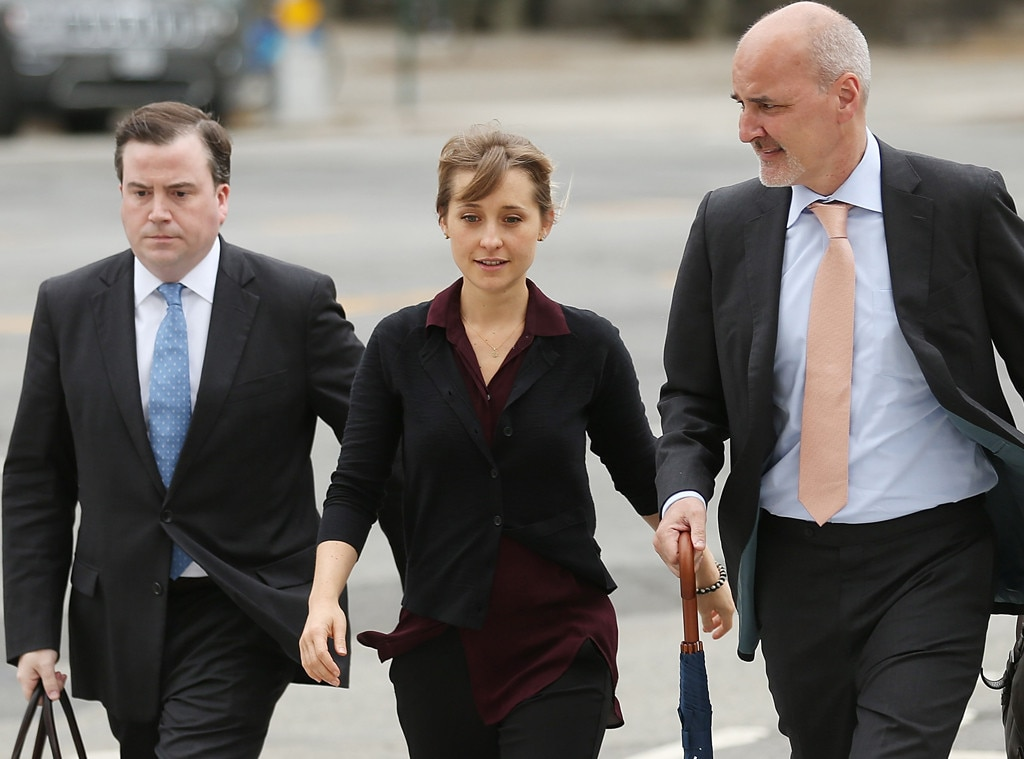 Allison Mack, Court
