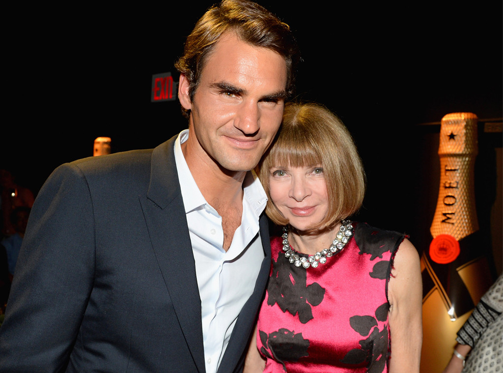 Anna Wintour, Roger Federer