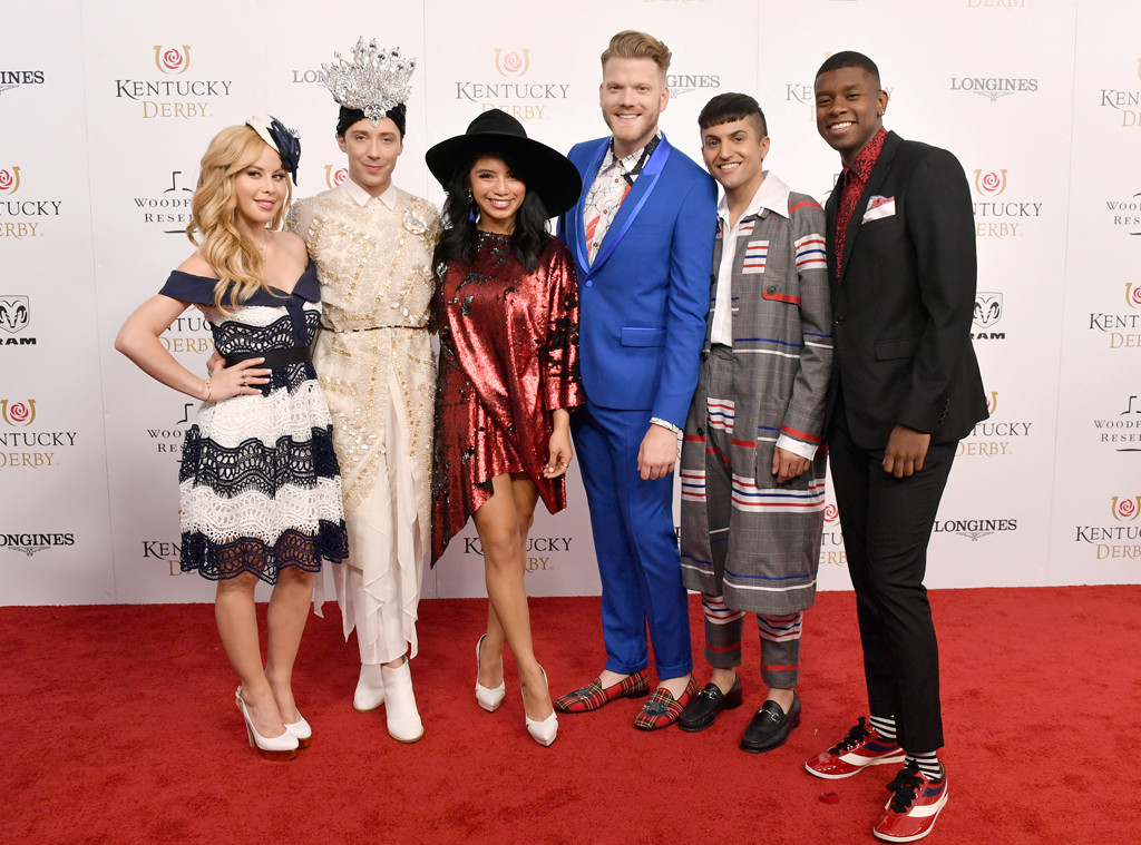 Pentatonix, Kentucky Derby, Tara, Johnny 2018