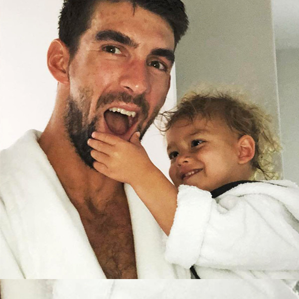 Michael Phelps Wishes Son Boomer Phelps a Happy 2nd Birthday With Sweet Photo