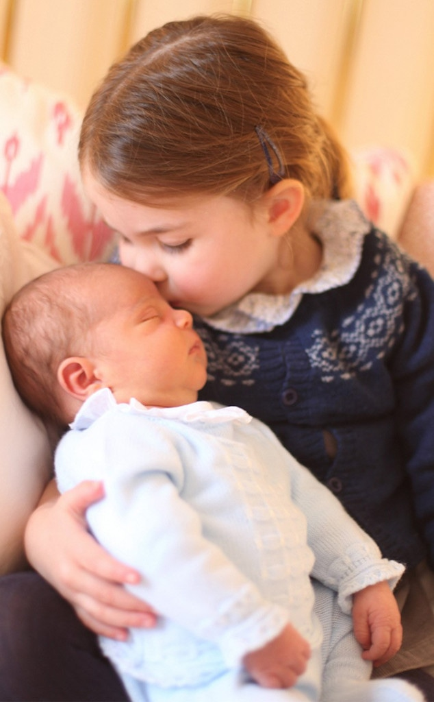 *FULLY EMBARGOED UNTIL 0001 GMT SUNDAY MAY 6th 2018** Prince Louis, Princess Charlotte