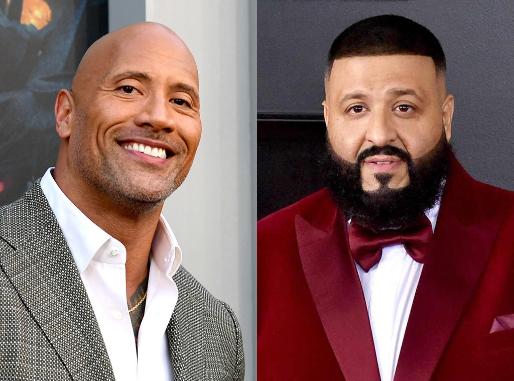 Dwayne Johnson, DJ Khaled