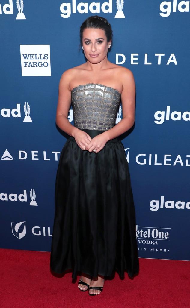 Lea Michele, GLAAD Awards, 2018