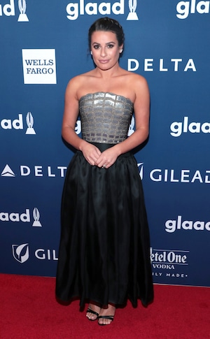 Lea Michele, GLAAD Awards, 2018