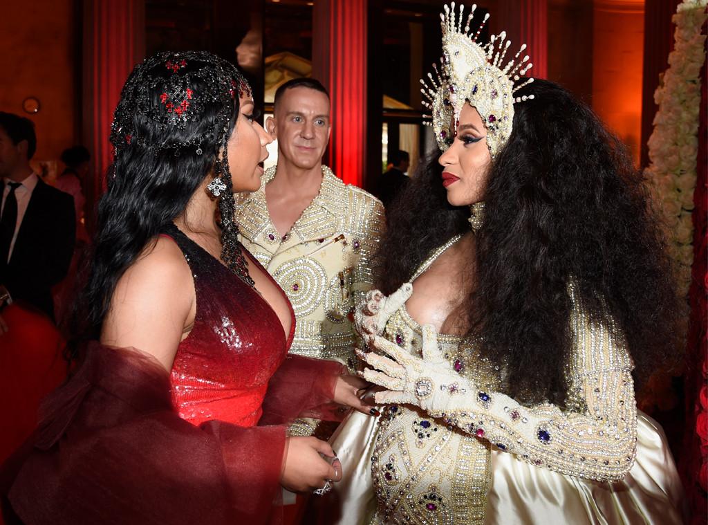 Nicki Minaj, Cardi B, 2018 Met Gala