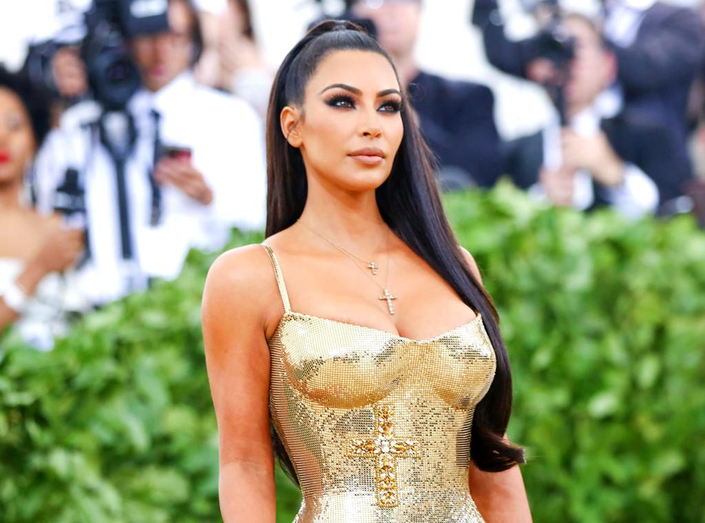 ESC: Kim Kardashian, Met Gala 2018