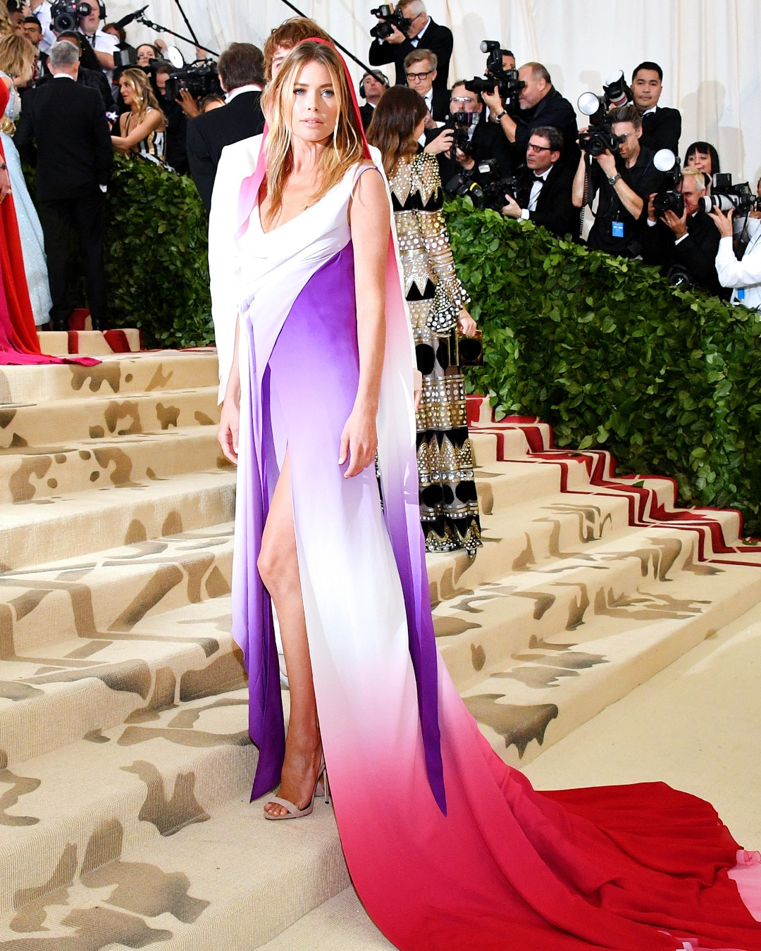 Red style carpet met gala event new photo