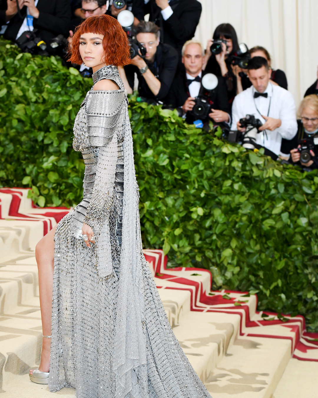 Zendaya Materializes Girl Power With Homage To Joan Of Arc