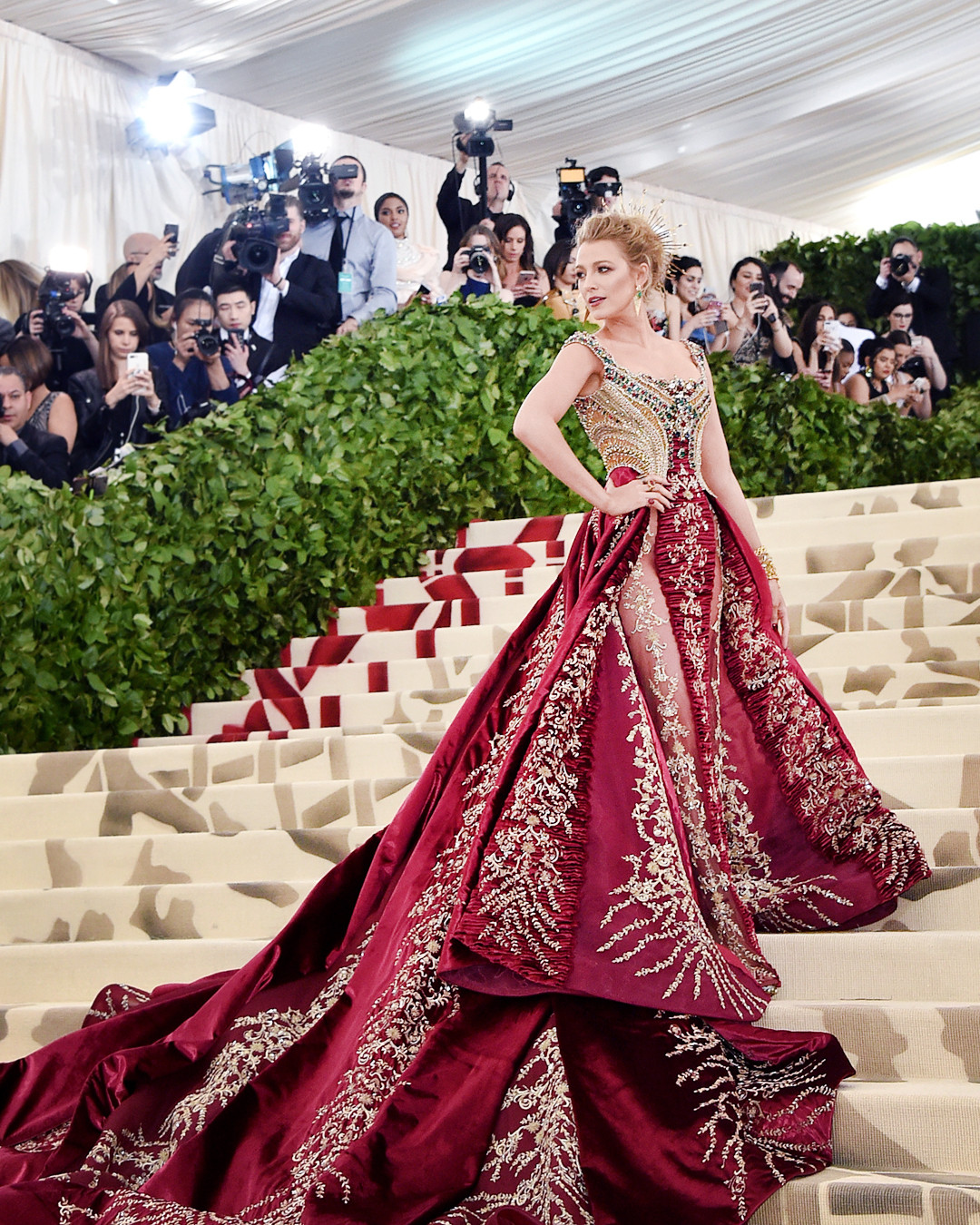 Image result for met gala 2018 blake lively