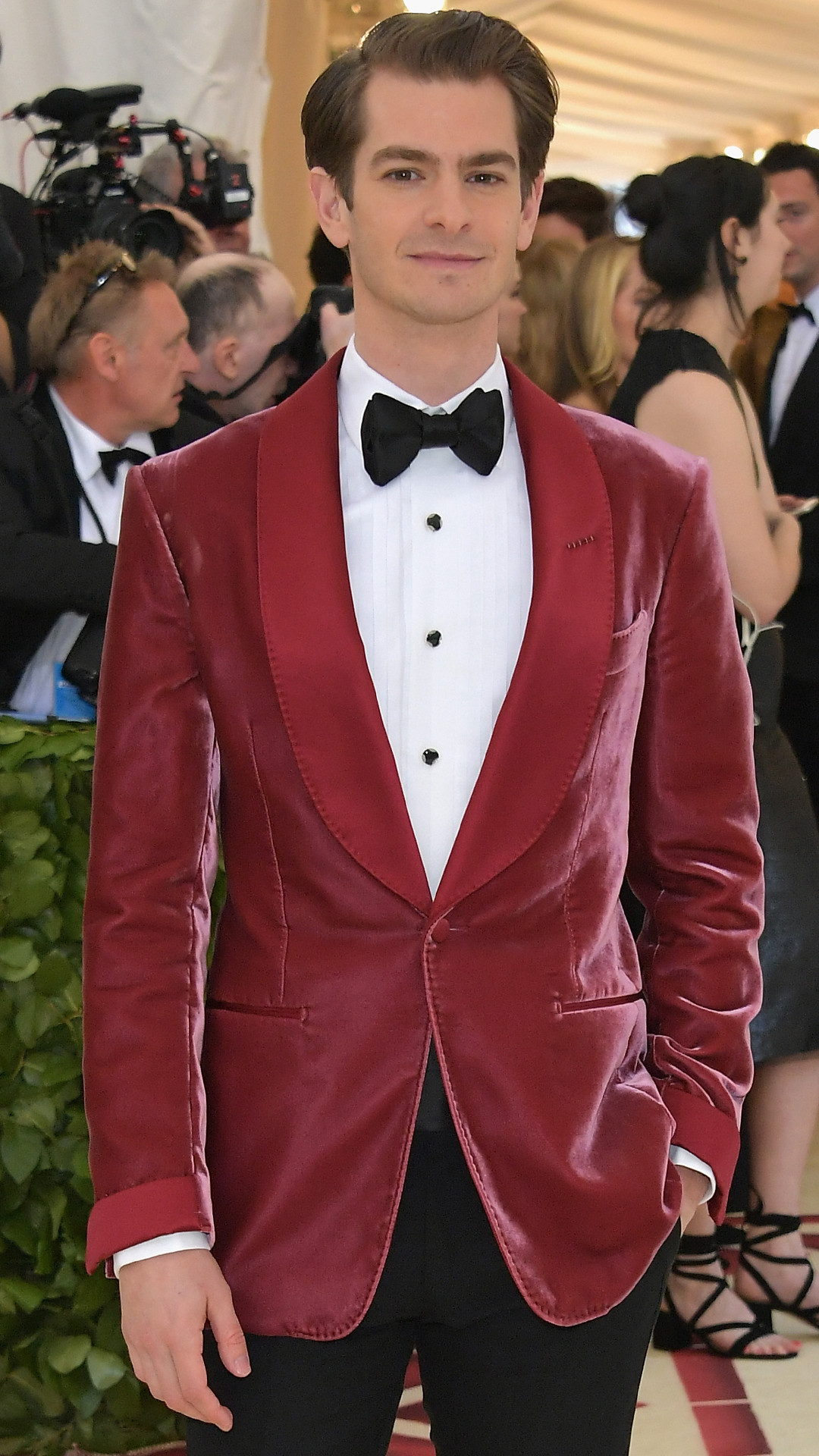 Andrew Garfield, 2018 Met Gala, Red Carpet Fashions