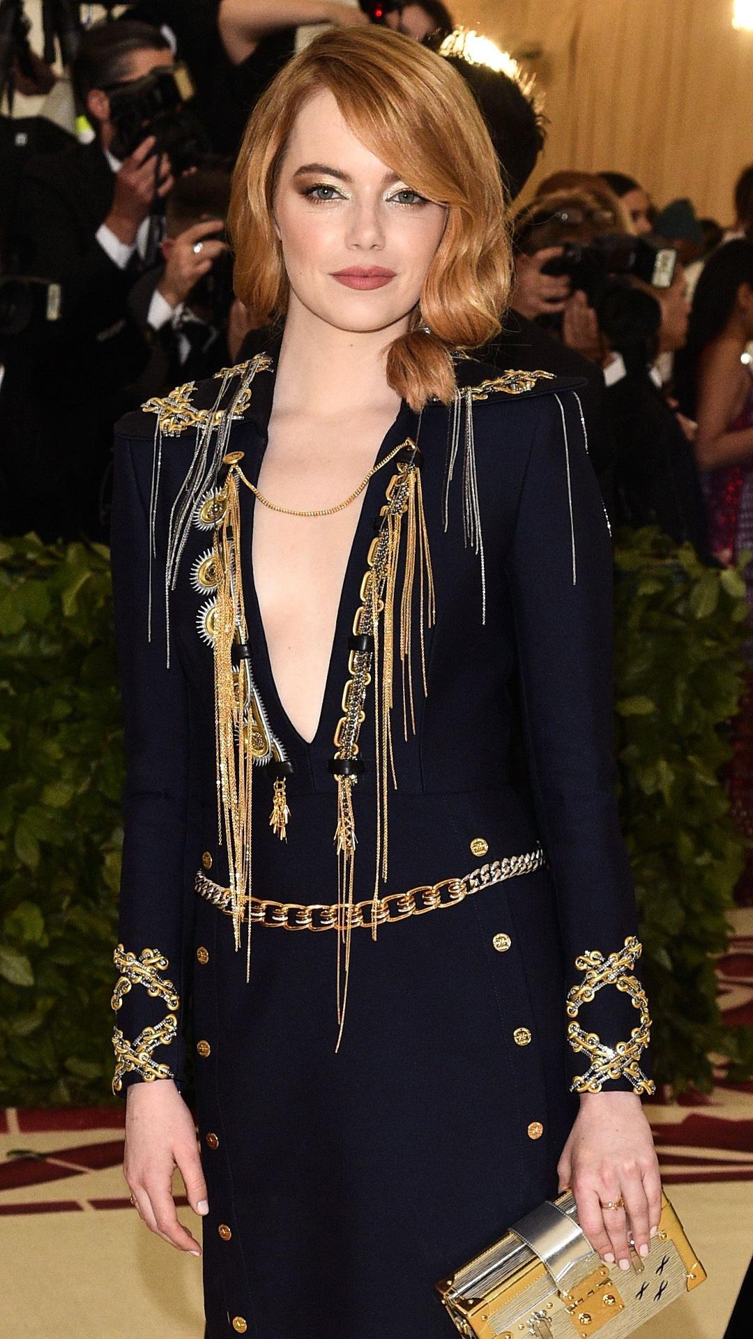 Emma Stone, 2018 Met Gala, Red Carpet Fashions