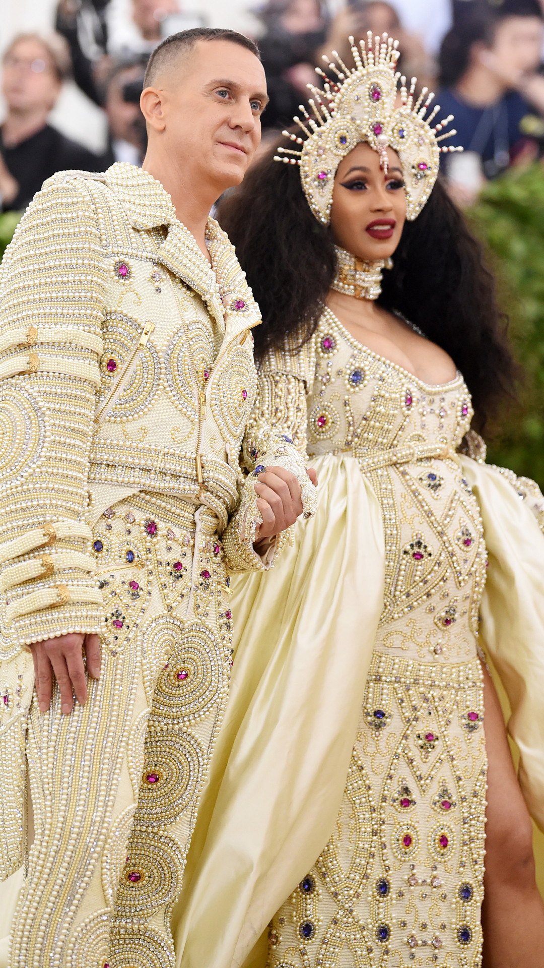 ESC: Met Gala 2018, Jeremy Scott and Cardi B