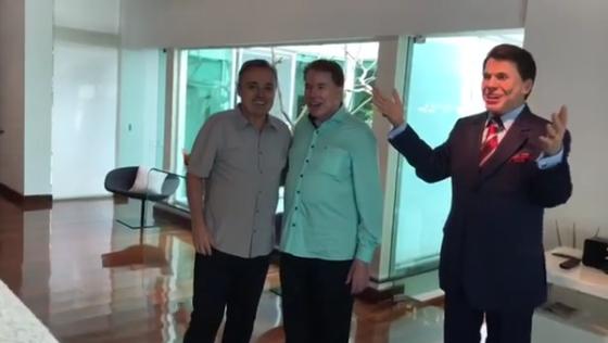 Gugu Liberato, Silvio Santos