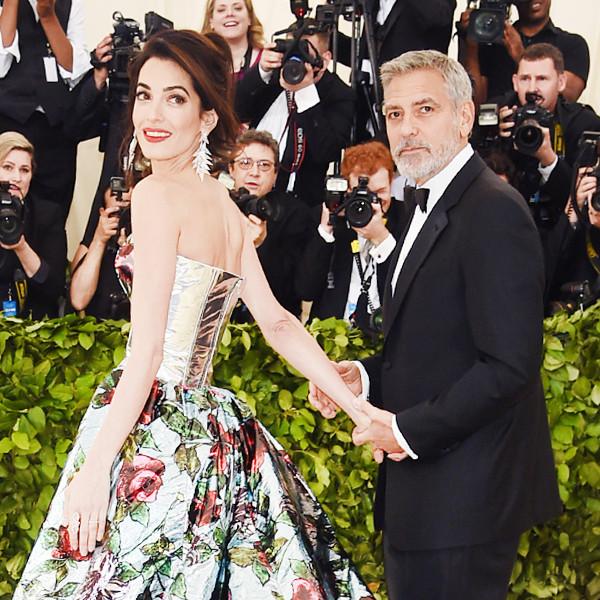 George Clooney, Amal Clooney, 2018 Met Gala, Couples