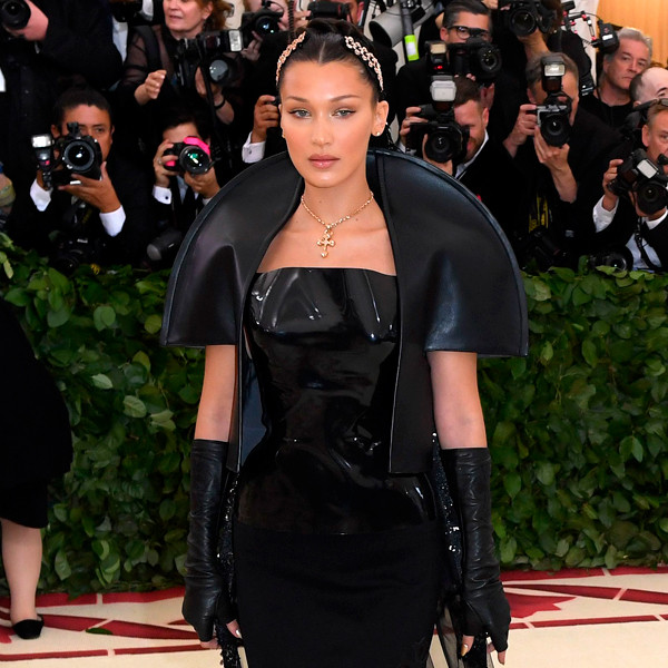 Bella Hadid, 2018 Met Gala, Red Carpet Fashions