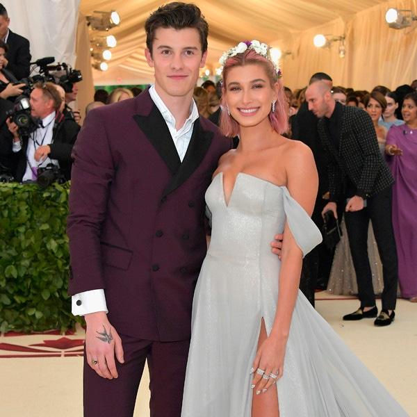 Shawn Mendes, Hailey Baldwin, Met Gala, 2018, Couples
