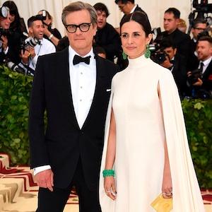 Colin Firth, Livia Giuggioli, Met Gala, 2018, Couples