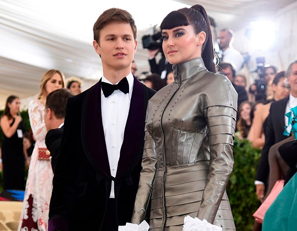Shailene Woodley And Ansel Elgort S Divergent Reunion Gave