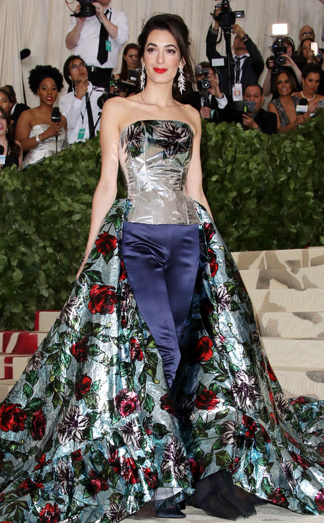 Amal Clooney, 2018 Met Gala, Red Carpet Fashions