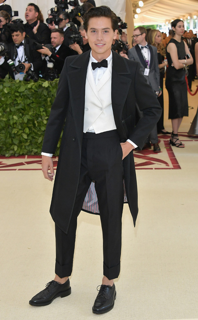 Cole Sprouse, 2018 Met Gala, Red Carpet Fashions