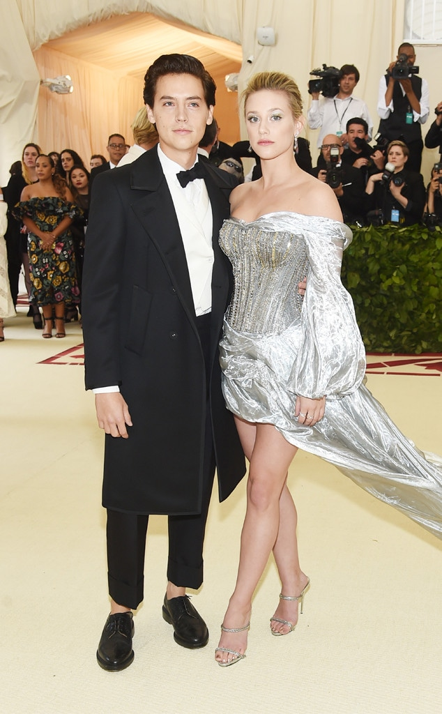 Cole Sprouse, Lili Reinhart, Met Gala, 2018, Couples