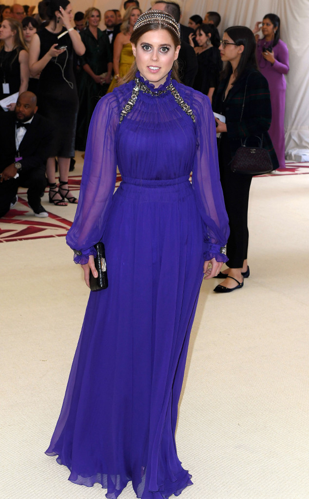 Princess Beatrice, 2018 Met Gala, Red Carpet Fashions