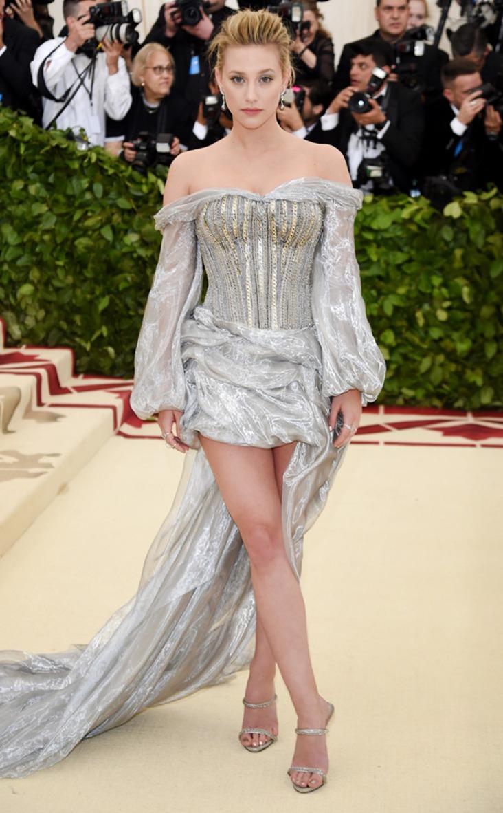 2018 Met Gala Red Carpet Fashion Lili Reinhart, 2018 Met Gala, Red Carpet Fashions