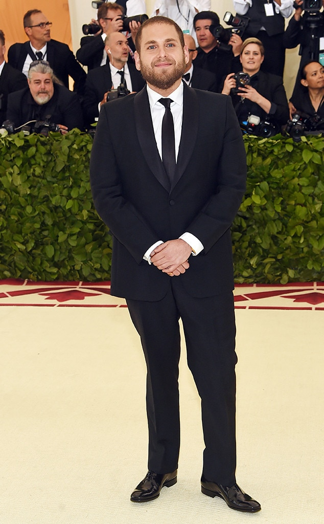 Jonah Hill, 2018 Met Gala, Red Carpet Fashions