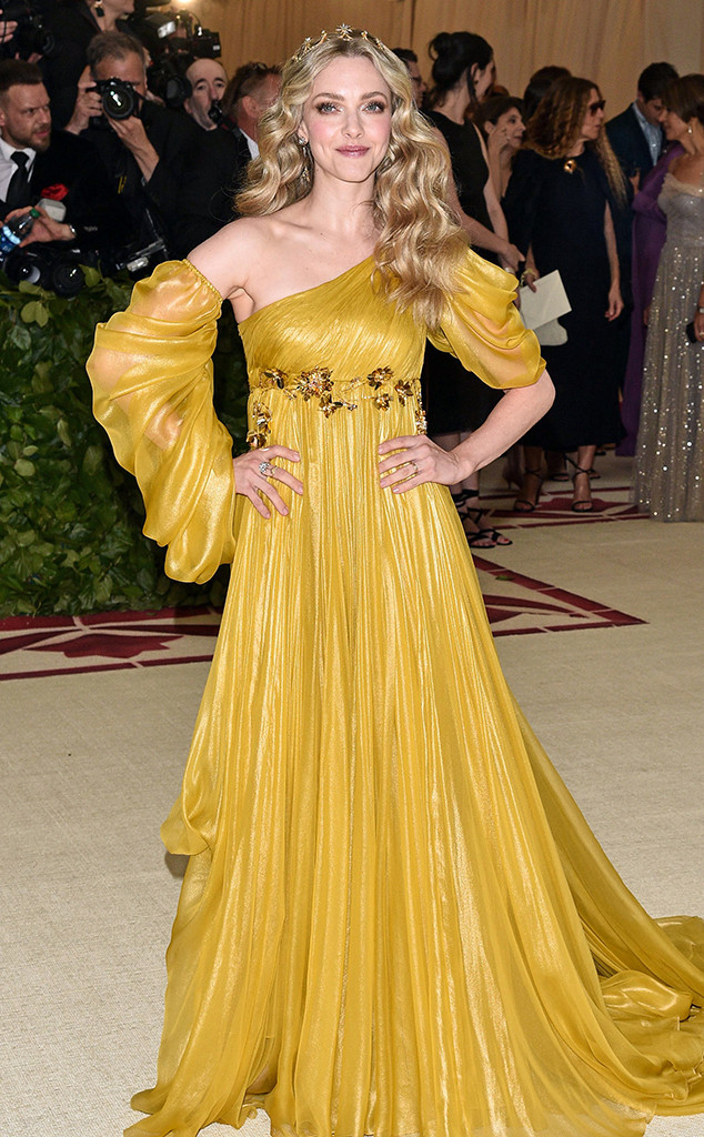 Amanda Seyfried, 2018 Met Gala, Red Carpet Fashions