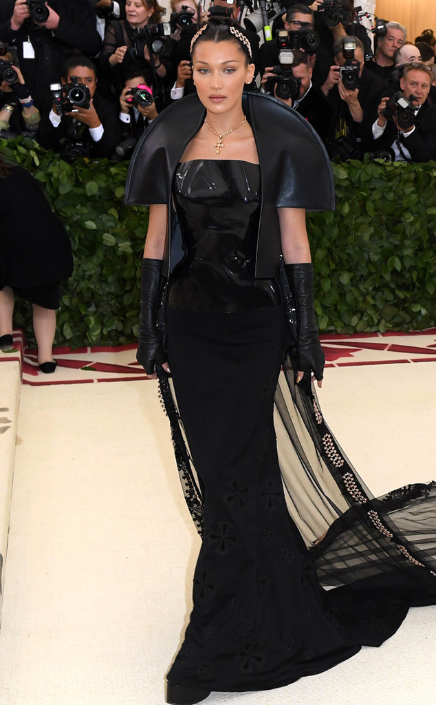 Bella Hadid, 2018 Met Gala, Red Carpet Fashions
