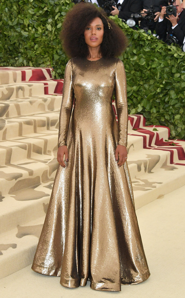 Kerry Washington, 2018 Met Gala, Red Carpet Fashions