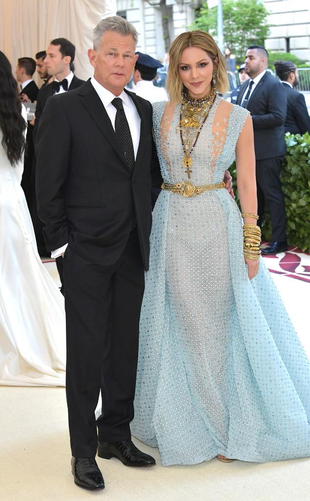 David Foster, Katherine McPhee, Met Gala, 2018, Couples