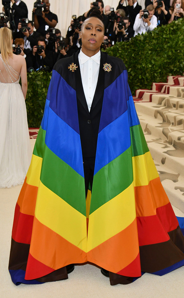 Lena Waithe, 2018 Met Gala, Red Carpet Fashions
