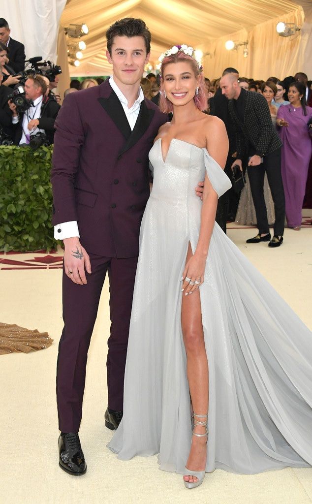 Shawn Mendes, Hailey Baldwin, Met Gala, 2018, Couples