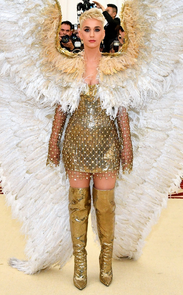 Katy Perry, 2018 Met Gala, Red Carpet Fashions