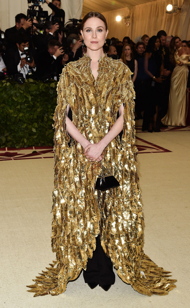 Evan Rachel Wood, 2018 Met Gala