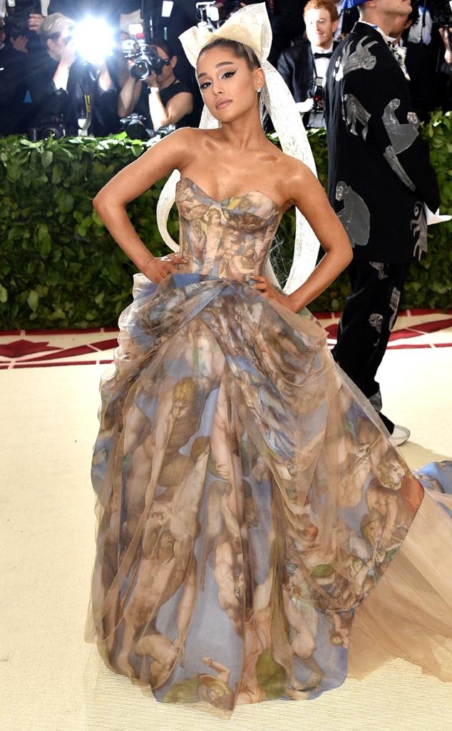 Ariana Grande, 2018 Met Gala, Red Carpet Fashions